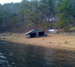 Boathouse high &dry