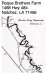 Natchitoches Marathon route
