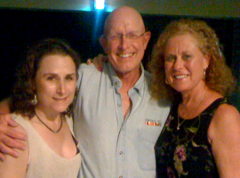 Andrea, Butch, Jeni at Leona's